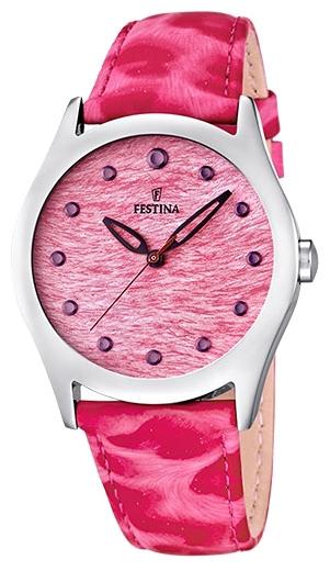 Festina F16648.2 - женские наручные часы из коллекции LadyFestina<br><br><br>Бренд: Festina<br>Модель: Festina F16648/2<br>Артикул: F16648.2<br>Вариант артикула: None<br>Коллекция: Lady<br>Подколлекция: None<br>Страна: Испания<br>Пол: женские<br>Тип механизма: кварцевые<br>Механизм: Miyota<br>Количество камней: None<br>Автоподзавод: None<br>Источник энергии: от батарейки<br>Срок службы элемента питания: None<br>Дисплей: стрелки<br>Цифры: отсутствуют<br>Водозащита: WR 50<br>Противоударные: None<br>Материал корпуса: нерж. сталь<br>Материал браслета: кожа<br>Материал безеля: None<br>Стекло: минеральное<br>Антибликовое покрытие: None<br>Цвет корпуса: None<br>Цвет браслета: None<br>Цвет циферблата: None<br>Цвет безеля: None<br>Размеры: 36 мм<br>Диаметр: None<br>Диаметр корпуса: None<br>Толщина: None<br>Ширина ремешка: None<br>Вес: None<br>Спорт-функции: None<br>Подсветка: None<br>Вставка: None<br>Отображение даты: None<br>Хронограф: None<br>Таймер: None<br>Термометр: None<br>Хронометр: None<br>GPS: None<br>Радиосинхронизация: None<br>Барометр: None<br>Скелетон: None<br>Дополнительная информация: элемент питания SR626SW, срок службы батарейки 3 года<br>Дополнительные функции: None