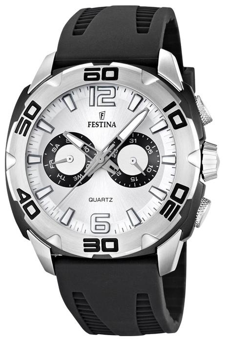 Festina F16665.1 - мужские наручные часы из коллекции SportFestina<br><br><br>Бренд: Festina<br>Модель: Festina F16665/1<br>Артикул: F16665.1<br>Вариант артикула: None<br>Коллекция: Sport<br>Подколлекция: None<br>Страна: Испания<br>Пол: мужские<br>Тип механизма: кварцевые<br>Механизм: None<br>Количество камней: None<br>Автоподзавод: None<br>Источник энергии: от батарейки<br>Срок службы элемента питания: None<br>Дисплей: стрелки<br>Цифры: арабские<br>Водозащита: WR 50<br>Противоударные: None<br>Материал корпуса: нерж. сталь<br>Материал браслета: силикон<br>Материал безеля: None<br>Стекло: минеральное<br>Антибликовое покрытие: None<br>Цвет корпуса: None<br>Цвет браслета: None<br>Цвет циферблата: None<br>Цвет безеля: None<br>Размеры: 46 мм<br>Диаметр: None<br>Диаметр корпуса: None<br>Толщина: None<br>Ширина ремешка: None<br>Вес: None<br>Спорт-функции: None<br>Подсветка: стрелок<br>Вставка: None<br>Отображение даты: число, день недели<br>Хронограф: None<br>Таймер: None<br>Термометр: None<br>Хронометр: None<br>GPS: None<br>Радиосинхронизация: None<br>Барометр: None<br>Скелетон: None<br>Дополнительная информация: None<br>Дополнительные функции: None