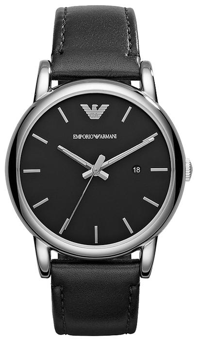 Emporio Armani AR1692 - мужские наручные часы из коллекции ClassicEmporio Armani<br><br><br>Бренд: Emporio Armani<br>Модель: Emporio Armani AR1692<br>Артикул: AR1692<br>Вариант артикула: None<br>Коллекция: Classic<br>Подколлекция: None<br>Страна: Италия<br>Пол: мужские<br>Тип механизма: кварцевые<br>Механизм: None<br>Количество камней: None<br>Автоподзавод: None<br>Источник энергии: от батарейки<br>Срок службы элемента питания: None<br>Дисплей: стрелки<br>Цифры: отсутствуют<br>Водозащита: WR 50<br>Противоударные: None<br>Материал корпуса: нерж. сталь<br>Материал браслета: кожа<br>Материал безеля: None<br>Стекло: минеральное<br>Антибликовое покрытие: None<br>Цвет корпуса: None<br>Цвет браслета: None<br>Цвет циферблата: None<br>Цвет безеля: None<br>Размеры: 41 мм<br>Диаметр: None<br>Диаметр корпуса: None<br>Толщина: None<br>Ширина ремешка: None<br>Вес: None<br>Спорт-функции: None<br>Подсветка: стрелок<br>Вставка: None<br>Отображение даты: число<br>Хронограф: None<br>Таймер: None<br>Термометр: None<br>Хронометр: None<br>GPS: None<br>Радиосинхронизация: None<br>Барометр: None<br>Скелетон: None<br>Дополнительная информация: None<br>Дополнительные функции: None