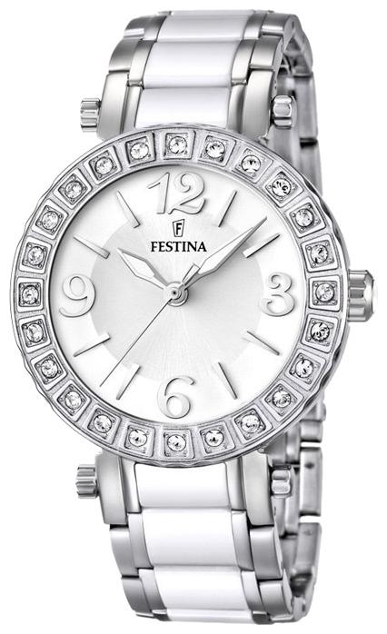 Festina F16643.1 - женские наручные часы из коллекции CeramicFestina<br><br><br>Бренд: Festina<br>Модель: Festina F16643/1<br>Артикул: F16643.1<br>Вариант артикула: None<br>Коллекция: Ceramic<br>Подколлекция: None<br>Страна: Испания<br>Пол: женские<br>Тип механизма: кварцевые<br>Механизм: None<br>Количество камней: None<br>Автоподзавод: None<br>Источник энергии: от батарейки<br>Срок службы элемента питания: None<br>Дисплей: стрелки<br>Цифры: арабские<br>Водозащита: WR 50<br>Противоударные: None<br>Материал корпуса: нерж. сталь<br>Материал браслета: нерж. сталь + керамика<br>Материал безеля: None<br>Стекло: минеральное<br>Антибликовое покрытие: None<br>Цвет корпуса: None<br>Цвет браслета: None<br>Цвет циферблата: None<br>Цвет безеля: None<br>Размеры: 38 мм<br>Диаметр: None<br>Диаметр корпуса: None<br>Толщина: None<br>Ширина ремешка: None<br>Вес: None<br>Спорт-функции: None<br>Подсветка: стрелок<br>Вставка: фианит<br>Отображение даты: None<br>Хронограф: None<br>Таймер: None<br>Термометр: None<br>Хронометр: None<br>GPS: None<br>Радиосинхронизация: None<br>Барометр: None<br>Скелетон: None<br>Дополнительная информация: срок службы батарейки 2 года<br>Дополнительные функции: None