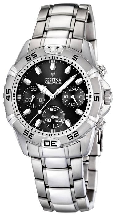 Festina F16635.4 - мужские наручные часы из коллекции EstucheFestina<br><br><br>Бренд: Festina<br>Модель: Festina F16635/4<br>Артикул: F16635.4<br>Вариант артикула: None<br>Коллекция: Estuche<br>Подколлекция: None<br>Страна: Испания<br>Пол: мужские<br>Тип механизма: кварцевые<br>Механизм: Miyota<br>Количество камней: None<br>Автоподзавод: None<br>Источник энергии: от батарейки<br>Срок службы элемента питания: None<br>Дисплей: стрелки<br>Цифры: отсутствуют<br>Водозащита: WR 100<br>Противоударные: None<br>Материал корпуса: нерж. сталь<br>Материал браслета: нерж. сталь + керамика<br>Материал безеля: None<br>Стекло: минеральное<br>Антибликовое покрытие: None<br>Цвет корпуса: None<br>Цвет браслета: None<br>Цвет циферблата: None<br>Цвет безеля: None<br>Размеры: 40 мм<br>Диаметр: None<br>Диаметр корпуса: None<br>Толщина: None<br>Ширина ремешка: None<br>Вес: None<br>Спорт-функции: секундомер<br>Подсветка: стрелок<br>Вставка: None<br>Отображение даты: число<br>Хронограф: есть<br>Таймер: None<br>Термометр: None<br>Хронометр: None<br>GPS: None<br>Радиосинхронизация: None<br>Барометр: None<br>Скелетон: None<br>Дополнительная информация: дополнительный кожаный ремешок в комплекте<br>Дополнительные функции: None