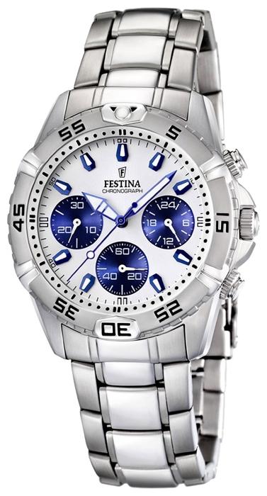 Festina F16635.1 - мужские наручные часы из коллекции EstucheFestina<br><br><br>Бренд: Festina<br>Модель: Festina F16635/1<br>Артикул: F16635.1<br>Вариант артикула: None<br>Коллекция: Estuche<br>Подколлекция: None<br>Страна: Испания<br>Пол: мужские<br>Тип механизма: кварцевые<br>Механизм: Miyota<br>Количество камней: None<br>Автоподзавод: None<br>Источник энергии: от батарейки<br>Срок службы элемента питания: None<br>Дисплей: стрелки<br>Цифры: отсутствуют<br>Водозащита: WR 100<br>Противоударные: None<br>Материал корпуса: нерж. сталь<br>Материал браслета: нерж. сталь + керамика<br>Материал безеля: None<br>Стекло: минеральное<br>Антибликовое покрытие: None<br>Цвет корпуса: None<br>Цвет браслета: None<br>Цвет циферблата: None<br>Цвет безеля: None<br>Размеры: 40 мм<br>Диаметр: None<br>Диаметр корпуса: None<br>Толщина: None<br>Ширина ремешка: None<br>Вес: None<br>Спорт-функции: секундомер<br>Подсветка: стрелок<br>Вставка: None<br>Отображение даты: число<br>Хронограф: есть<br>Таймер: None<br>Термометр: None<br>Хронометр: None<br>GPS: None<br>Радиосинхронизация: None<br>Барометр: None<br>Скелетон: None<br>Дополнительная информация: дополнительный кожаный ремешок в комплекте<br>Дополнительные функции: None