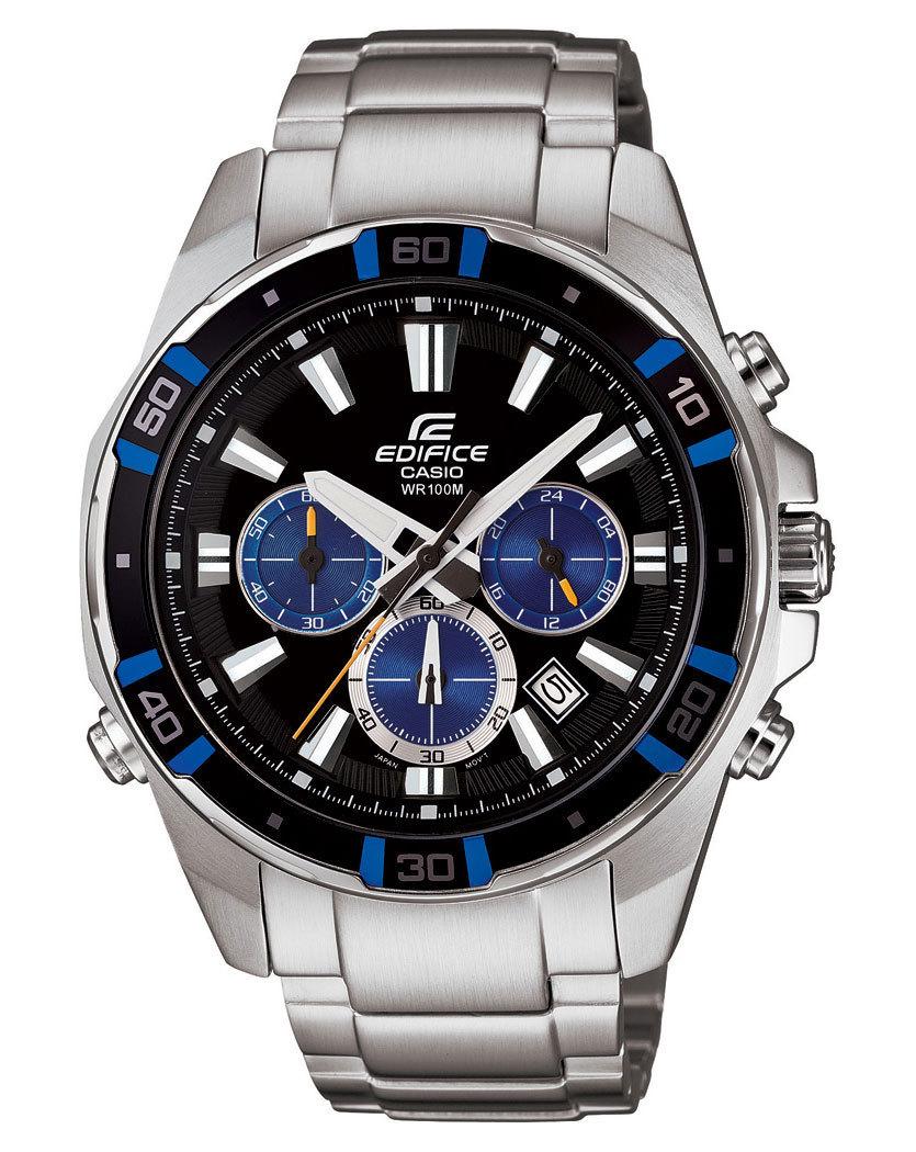 Casio Edifice EFR-534D-1A2 / EFR-534D-1A2ER - мужские наручные часыCasio<br><br><br>Бренд: Casio<br>Модель: Casio EFR-534D-1A2<br>Артикул: EFR-534D-1A2<br>Вариант артикула: EFR-534D-1A2ER<br>Коллекция: Edifice<br>Подколлекция: None<br>Страна: Япония<br>Пол: мужские<br>Тип механизма: кварцевые<br>Механизм: None<br>Количество камней: None<br>Автоподзавод: None<br>Источник энергии: от батарейки<br>Срок службы элемента питания: None<br>Дисплей: стрелки<br>Цифры: отсутствуют<br>Водозащита: WR 100<br>Противоударные: None<br>Материал корпуса: нерж. сталь + алюминий<br>Материал браслета: нерж. сталь<br>Материал безеля: None<br>Стекло: минеральное<br>Антибликовое покрытие: None<br>Цвет корпуса: None<br>Цвет браслета: None<br>Цвет циферблата: None<br>Цвет безеля: None<br>Размеры: 46x52.5x13.7 мм<br>Диаметр: None<br>Диаметр корпуса: None<br>Толщина: None<br>Ширина ремешка: None<br>Вес: 178 г<br>Спорт-функции: секундомер<br>Подсветка: дисплея, стрелок<br>Вставка: None<br>Отображение даты: число<br>Хронограф: есть<br>Таймер: None<br>Термометр: None<br>Хронометр: None<br>GPS: None<br>Радиосинхронизация: None<br>Барометр: None<br>Скелетон: None<br>Дополнительная информация: None<br>Дополнительные функции: None