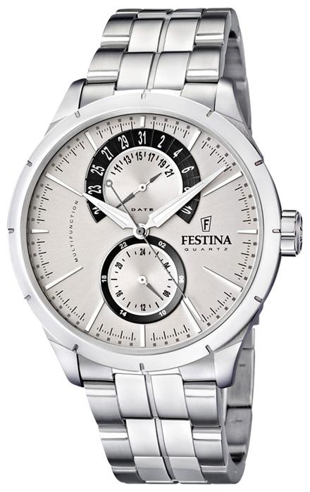 Festina F16632.1 - мужские наручные часы из коллекции RetroFestina<br><br><br>Бренд: Festina<br>Модель: Festina F16632/1<br>Артикул: F16632.1<br>Вариант артикула: None<br>Коллекция: Retro<br>Подколлекция: None<br>Страна: Испания<br>Пол: мужские<br>Тип механизма: кварцевые<br>Механизм: Miyota 6P73<br>Количество камней: None<br>Автоподзавод: None<br>Источник энергии: от батарейки<br>Срок службы элемента питания: None<br>Дисплей: стрелки<br>Цифры: отсутствуют<br>Водозащита: WR 50<br>Противоударные: None<br>Материал корпуса: нерж. сталь<br>Материал браслета: нерж. сталь<br>Материал безеля: None<br>Стекло: минеральное<br>Антибликовое покрытие: None<br>Цвет корпуса: None<br>Цвет браслета: None<br>Цвет циферблата: None<br>Цвет безеля: None<br>Размеры: 46 мм<br>Диаметр: None<br>Диаметр корпуса: None<br>Толщина: None<br>Ширина ремешка: None<br>Вес: None<br>Спорт-функции: None<br>Подсветка: стрелок<br>Вставка: None<br>Отображение даты: число<br>Хронограф: None<br>Таймер: None<br>Термометр: None<br>Хронометр: None<br>GPS: None<br>Радиосинхронизация: None<br>Барометр: None<br>Скелетон: None<br>Дополнительная информация: срок службы батарейки 3 года<br>Дополнительные функции: None