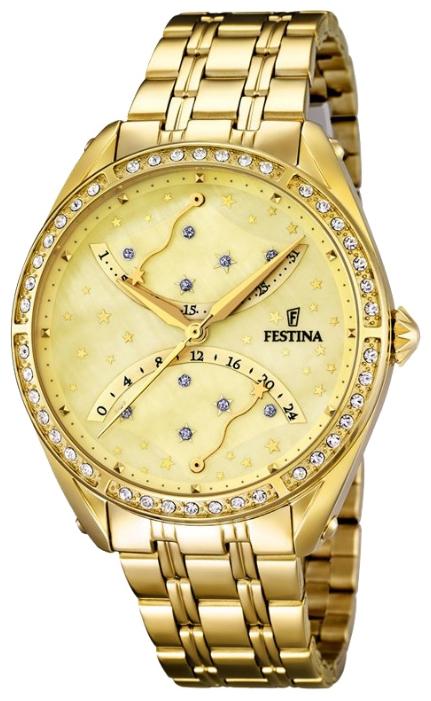 Festina F16743.2 - женские наручные часы из коллекции MultifunctionFestina<br><br><br>Бренд: Festina<br>Модель: Festina F16743/2<br>Артикул: F16743.2<br>Вариант артикула: None<br>Коллекция: Multifunction<br>Подколлекция: None<br>Страна: Испания<br>Пол: женские<br>Тип механизма: кварцевые<br>Механизм: MGP50<br>Количество камней: None<br>Автоподзавод: None<br>Источник энергии: от батарейки<br>Срок службы элемента питания: None<br>Дисплей: стрелки<br>Цифры: отсутствуют<br>Водозащита: WR 50<br>Противоударные: None<br>Материал корпуса: нерж. сталь, PVD покрытие (полное)<br>Материал браслета: нерж. сталь, PVD покрытие (полное)<br>Материал безеля: None<br>Стекло: минеральное<br>Антибликовое покрытие: None<br>Цвет корпуса: None<br>Цвет браслета: None<br>Цвет циферблата: None<br>Цвет безеля: None<br>Размеры: 37.2 мм<br>Диаметр: None<br>Диаметр корпуса: None<br>Толщина: None<br>Ширина ремешка: None<br>Вес: None<br>Спорт-функции: None<br>Подсветка: None<br>Вставка: None<br>Отображение даты: число<br>Хронограф: None<br>Таймер: None<br>Термометр: None<br>Хронометр: None<br>GPS: None<br>Радиосинхронизация: None<br>Барометр: None<br>Скелетон: None<br>Дополнительная информация: None<br>Дополнительные функции: None