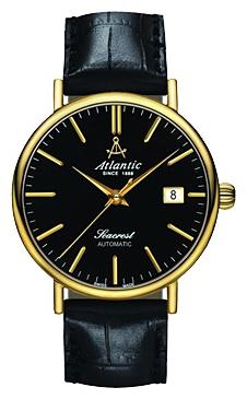 Atlantic 50744.45.61 - мужские наручные часы из коллекции SeacrestAtlantic<br><br><br>Бренд: Atlantic<br>Модель: Atlantic 50744.45.61<br>Артикул: 50744.45.61<br>Вариант артикула: None<br>Коллекция: Seacrest<br>Подколлекция: None<br>Страна: Швейцария<br>Пол: мужские<br>Тип механизма: механические<br>Механизм: None<br>Количество камней: None<br>Автоподзавод: есть<br>Источник энергии: пружинный механизм<br>Срок службы элемента питания: None<br>Дисплей: стрелки<br>Цифры: отсутствуют<br>Водозащита: WR 50<br>Противоударные: None<br>Материал корпуса: нерж. сталь, покрытие: позолота (полное)<br>Материал браслета: кожа<br>Материал безеля: None<br>Стекло: сапфировое<br>Антибликовое покрытие: None<br>Цвет корпуса: None<br>Цвет браслета: None<br>Цвет циферблата: None<br>Цвет безеля: None<br>Размеры: 42 мм<br>Диаметр: None<br>Диаметр корпуса: None<br>Толщина: None<br>Ширина ремешка: None<br>Вес: None<br>Спорт-функции: None<br>Подсветка: None<br>Вставка: None<br>Отображение даты: число<br>Хронограф: None<br>Таймер: None<br>Термометр: None<br>Хронометр: None<br>GPS: None<br>Радиосинхронизация: None<br>Барометр: None<br>Скелетон: None<br>Дополнительная информация: None<br>Дополнительные функции: None