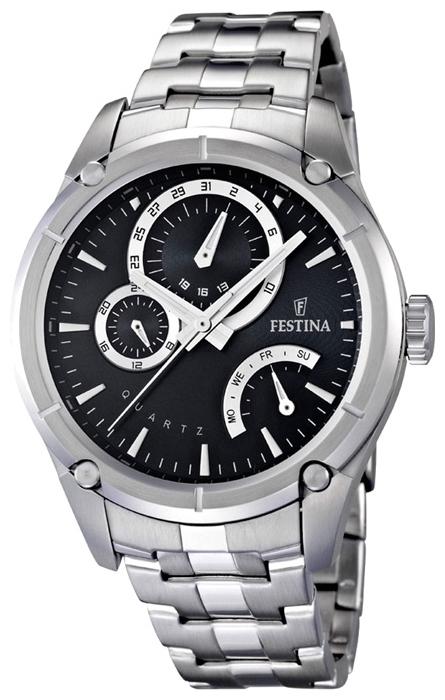 Festina F16669.3 - мужские наручные часы из коллекции RetroFestina<br><br><br>Бренд: Festina<br>Модель: Festina F16669/3<br>Артикул: F16669.3<br>Вариант артикула: None<br>Коллекция: Retro<br>Подколлекция: None<br>Страна: Испания<br>Пол: мужские<br>Тип механизма: кварцевые<br>Механизм: Miyota<br>Количество камней: None<br>Автоподзавод: None<br>Источник энергии: от батарейки<br>Срок службы элемента питания: None<br>Дисплей: стрелки<br>Цифры: отсутствуют<br>Водозащита: WR 50<br>Противоударные: None<br>Материал корпуса: нерж. сталь<br>Материал браслета: нерж. сталь<br>Материал безеля: None<br>Стекло: минеральное<br>Антибликовое покрытие: None<br>Цвет корпуса: None<br>Цвет браслета: None<br>Цвет циферблата: None<br>Цвет безеля: None<br>Размеры: 44x12 мм<br>Диаметр: None<br>Диаметр корпуса: None<br>Толщина: None<br>Ширина ремешка: None<br>Вес: None<br>Спорт-функции: None<br>Подсветка: стрелок<br>Вставка: None<br>Отображение даты: число, день недели<br>Хронограф: None<br>Таймер: None<br>Термометр: None<br>Хронометр: None<br>GPS: None<br>Радиосинхронизация: None<br>Барометр: None<br>Скелетон: None<br>Дополнительная информация: срок службы батарейки 3 года<br>Дополнительные функции: None