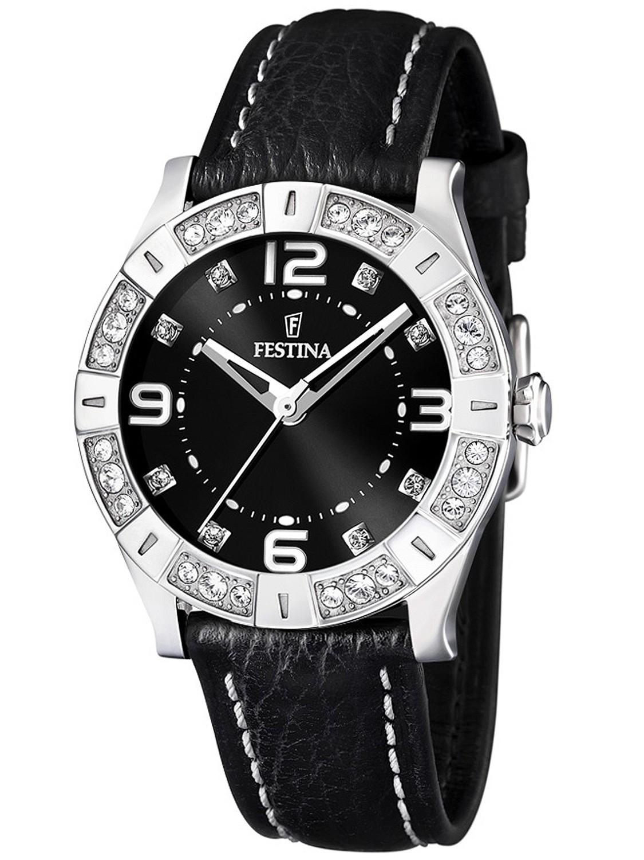 Festina F16537.2 - женские наручные часы из коллекции CeramicFestina<br><br><br>Бренд: Festina<br>Модель: Festina F16537/2<br>Артикул: F16537.2<br>Вариант артикула: None<br>Коллекция: Ceramic<br>Подколлекция: None<br>Страна: Испания<br>Пол: женские<br>Тип механизма: кварцевые<br>Механизм: None<br>Количество камней: None<br>Автоподзавод: None<br>Источник энергии: от батарейки<br>Срок службы элемента питания: None<br>Дисплей: стрелки<br>Цифры: арабские<br>Водозащита: WR 50<br>Противоударные: None<br>Материал корпуса: нерж. сталь<br>Материал браслета: кожа<br>Материал безеля: None<br>Стекло: минеральное<br>Антибликовое покрытие: None<br>Цвет корпуса: None<br>Цвет браслета: None<br>Цвет циферблата: None<br>Цвет безеля: None<br>Размеры: 38x38 мм<br>Диаметр: None<br>Диаметр корпуса: None<br>Толщина: None<br>Ширина ремешка: None<br>Вес: None<br>Спорт-функции: None<br>Подсветка: None<br>Вставка: кристаллы Swarovski<br>Отображение даты: None<br>Хронограф: None<br>Таймер: None<br>Термометр: None<br>Хронометр: None<br>GPS: None<br>Радиосинхронизация: None<br>Барометр: None<br>Скелетон: None<br>Дополнительная информация: None<br>Дополнительные функции: None