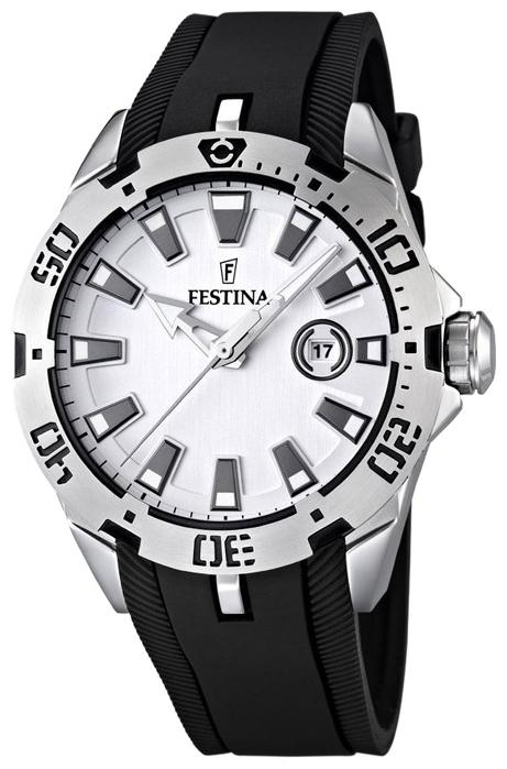 Festina F16671.1 - унисекс наручные часы из коллекции SportFestina<br><br><br>Бренд: Festina<br>Модель: Festina F16671/1<br>Артикул: F16671.1<br>Вариант артикула: None<br>Коллекция: Sport<br>Подколлекция: None<br>Страна: Испания<br>Пол: унисекс<br>Тип механизма: кварцевые<br>Механизм: None<br>Количество камней: None<br>Автоподзавод: None<br>Источник энергии: от батарейки<br>Срок службы элемента питания: None<br>Дисплей: стрелки<br>Цифры: отсутствуют<br>Водозащита: WR 50<br>Противоударные: None<br>Материал корпуса: нерж. сталь<br>Материал браслета: каучук<br>Материал безеля: None<br>Стекло: минеральное<br>Антибликовое покрытие: None<br>Цвет корпуса: None<br>Цвет браслета: None<br>Цвет циферблата: None<br>Цвет безеля: None<br>Размеры: 44 мм<br>Диаметр: None<br>Диаметр корпуса: None<br>Толщина: None<br>Ширина ремешка: None<br>Вес: None<br>Спорт-функции: None<br>Подсветка: стрелок<br>Вставка: None<br>Отображение даты: число<br>Хронограф: None<br>Таймер: None<br>Термометр: None<br>Хронометр: None<br>GPS: None<br>Радиосинхронизация: None<br>Барометр: None<br>Скелетон: None<br>Дополнительная информация: None<br>Дополнительные функции: None