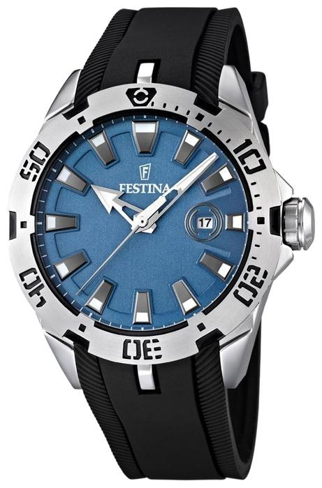 Festina F16671.2 - унисекс наручные часы из коллекции SportFestina<br><br><br>Бренд: Festina<br>Модель: Festina F16671/2<br>Артикул: F16671.2<br>Вариант артикула: None<br>Коллекция: Sport<br>Подколлекция: None<br>Страна: Испания<br>Пол: унисекс<br>Тип механизма: кварцевые<br>Механизм: None<br>Количество камней: None<br>Автоподзавод: None<br>Источник энергии: от батарейки<br>Срок службы элемента питания: None<br>Дисплей: стрелки<br>Цифры: отсутствуют<br>Водозащита: WR 50<br>Противоударные: None<br>Материал корпуса: нерж. сталь<br>Материал браслета: каучук<br>Материал безеля: None<br>Стекло: минеральное<br>Антибликовое покрытие: None<br>Цвет корпуса: None<br>Цвет браслета: None<br>Цвет циферблата: None<br>Цвет безеля: None<br>Размеры: 44 мм<br>Диаметр: None<br>Диаметр корпуса: None<br>Толщина: None<br>Ширина ремешка: None<br>Вес: None<br>Спорт-функции: None<br>Подсветка: стрелок<br>Вставка: None<br>Отображение даты: число<br>Хронограф: None<br>Таймер: None<br>Термометр: None<br>Хронометр: None<br>GPS: None<br>Радиосинхронизация: None<br>Барометр: None<br>Скелетон: None<br>Дополнительная информация: None<br>Дополнительные функции: None