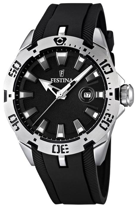 Festina F16671.4 - унисекс наручные часы из коллекции SportFestina<br><br><br>Бренд: Festina<br>Модель: Festina F16671/4<br>Артикул: F16671.4<br>Вариант артикула: None<br>Коллекция: Sport<br>Подколлекция: None<br>Страна: Испания<br>Пол: унисекс<br>Тип механизма: кварцевые<br>Механизм: None<br>Количество камней: None<br>Автоподзавод: None<br>Источник энергии: от батарейки<br>Срок службы элемента питания: None<br>Дисплей: стрелки<br>Цифры: отсутствуют<br>Водозащита: WR 50<br>Противоударные: None<br>Материал корпуса: нерж. сталь<br>Материал браслета: каучук<br>Материал безеля: None<br>Стекло: минеральное<br>Антибликовое покрытие: None<br>Цвет корпуса: None<br>Цвет браслета: None<br>Цвет циферблата: None<br>Цвет безеля: None<br>Размеры: 44 мм<br>Диаметр: None<br>Диаметр корпуса: None<br>Толщина: None<br>Ширина ремешка: None<br>Вес: None<br>Спорт-функции: None<br>Подсветка: стрелок<br>Вставка: None<br>Отображение даты: число<br>Хронограф: None<br>Таймер: None<br>Термометр: None<br>Хронометр: None<br>GPS: None<br>Радиосинхронизация: None<br>Барометр: None<br>Скелетон: None<br>Дополнительная информация: None<br>Дополнительные функции: None