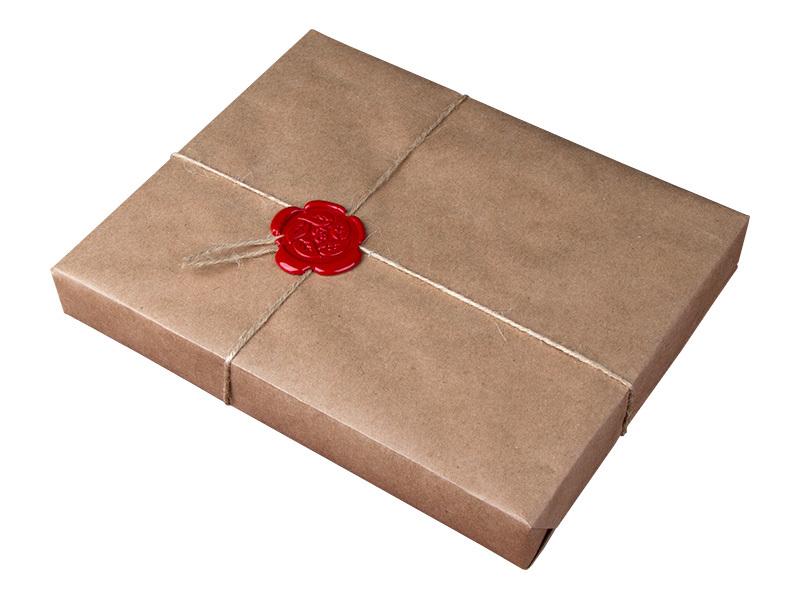 Сургуч упаковка подарков 71