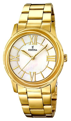 Festina F16724.1 - женские наручные часы из коллекции 9Festina<br><br><br>Бренд: Festina<br>Модель: Festina F16724/1<br>Артикул: F16724.1<br>Вариант артикула: None<br>Коллекция: 9<br>Подколлекция: None<br>Страна: Испания<br>Пол: женские<br>Тип механизма: кварцевые<br>Механизм: M2035<br>Количество камней: None<br>Автоподзавод: None<br>Источник энергии: от батарейки<br>Срок службы элемента питания: None<br>Дисплей: стрелки<br>Цифры: римские<br>Водозащита: WR 50<br>Противоударные: None<br>Материал корпуса: нерж. сталь, PVD покрытие (полное)<br>Материал браслета: нерж. сталь, PVD покрытие (полное)<br>Материал безеля: None<br>Стекло: минеральное<br>Антибликовое покрытие: None<br>Цвет корпуса: None<br>Цвет браслета: None<br>Цвет циферблата: None<br>Цвет безеля: None<br>Размеры: 36.2 мм<br>Диаметр: None<br>Диаметр корпуса: None<br>Толщина: None<br>Ширина ремешка: None<br>Вес: None<br>Спорт-функции: None<br>Подсветка: стрелок<br>Вставка: None<br>Отображение даты: None<br>Хронограф: None<br>Таймер: None<br>Термометр: None<br>Хронометр: None<br>GPS: None<br>Радиосинхронизация: None<br>Барометр: None<br>Скелетон: None<br>Дополнительная информация: None<br>Дополнительные функции: None