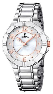 Festina F16726.1 - женские наручные часы из коллекции MademoiselleFestina<br><br><br>Бренд: Festina<br>Модель: Festina F16726/1<br>Артикул: F16726.1<br>Вариант артикула: None<br>Коллекция: Mademoiselle<br>Подколлекция: None<br>Страна: Испания<br>Пол: женские<br>Тип механизма: кварцевые<br>Механизм: M2035<br>Количество камней: None<br>Автоподзавод: None<br>Источник энергии: от батарейки<br>Срок службы элемента питания: None<br>Дисплей: стрелки<br>Цифры: арабские<br>Водозащита: WR 50<br>Противоударные: None<br>Материал корпуса: нерж. сталь<br>Материал браслета: нерж. сталь<br>Материал безеля: None<br>Стекло: минеральное<br>Антибликовое покрытие: None<br>Цвет корпуса: None<br>Цвет браслета: None<br>Цвет циферблата: None<br>Цвет безеля: None<br>Размеры: 34 мм<br>Диаметр: None<br>Диаметр корпуса: None<br>Толщина: None<br>Ширина ремешка: None<br>Вес: None<br>Спорт-функции: None<br>Подсветка: стрелок<br>Вставка: None<br>Отображение даты: None<br>Хронограф: None<br>Таймер: None<br>Термометр: None<br>Хронометр: None<br>GPS: None<br>Радиосинхронизация: None<br>Барометр: None<br>Скелетон: None<br>Дополнительная информация: None<br>Дополнительные функции: None