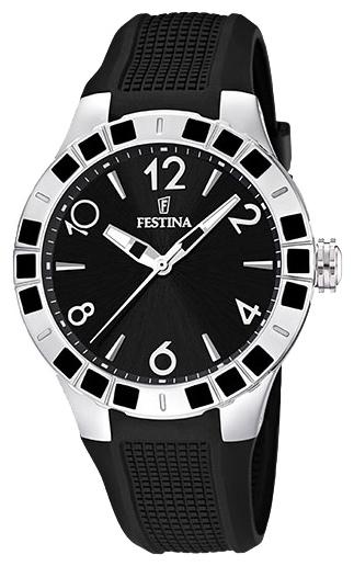 Festina F16676.3 - женские наручные часы из коллекции DreamFestina<br><br><br>Бренд: Festina<br>Модель: Festina F16676/3<br>Артикул: F16676.3<br>Вариант артикула: None<br>Коллекция: Dream<br>Подколлекция: None<br>Страна: Испания<br>Пол: женские<br>Тип механизма: кварцевые<br>Механизм: Miyota<br>Количество камней: None<br>Автоподзавод: None<br>Источник энергии: от батарейки<br>Срок службы элемента питания: None<br>Дисплей: стрелки<br>Цифры: арабские<br>Водозащита: WR 50<br>Противоударные: None<br>Материал корпуса: нерж. сталь, покрытие: эмаль (частичное)<br>Материал браслета: силикон<br>Материал безеля: None<br>Стекло: минеральное<br>Антибликовое покрытие: None<br>Цвет корпуса: None<br>Цвет браслета: None<br>Цвет циферблата: None<br>Цвет безеля: None<br>Размеры: 42 мм<br>Диаметр: None<br>Диаметр корпуса: None<br>Толщина: None<br>Ширина ремешка: None<br>Вес: None<br>Спорт-функции: None<br>Подсветка: стрелок<br>Вставка: None<br>Отображение даты: None<br>Хронограф: None<br>Таймер: None<br>Термометр: None<br>Хронометр: None<br>GPS: None<br>Радиосинхронизация: None<br>Барометр: None<br>Скелетон: None<br>Дополнительная информация: элемент питания SR621SW, срок службы батарейки 3 года<br>Дополнительные функции: None