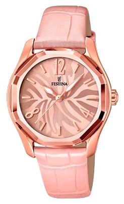 Festina F16739.2 - женские наручные часы из коллекции DreamtimeFestina<br><br><br>Бренд: Festina<br>Модель: Festina F16739/2<br>Артикул: F16739.2<br>Вариант артикула: None<br>Коллекция: Dreamtime<br>Подколлекция: None<br>Страна: Испания<br>Пол: женские<br>Тип механизма: кварцевые<br>Механизм: M2035<br>Количество камней: None<br>Автоподзавод: None<br>Источник энергии: от батарейки<br>Срок службы элемента питания: None<br>Дисплей: стрелки<br>Цифры: арабские<br>Водозащита: WR 50<br>Противоударные: None<br>Материал корпуса: нерж. сталь, PVD покрытие (полное)<br>Материал браслета: кожа<br>Материал безеля: None<br>Стекло: минеральное<br>Антибликовое покрытие: None<br>Цвет корпуса: None<br>Цвет браслета: None<br>Цвет циферблата: None<br>Цвет безеля: None<br>Размеры: 36.4 мм<br>Диаметр: None<br>Диаметр корпуса: None<br>Толщина: None<br>Ширина ремешка: None<br>Вес: None<br>Спорт-функции: None<br>Подсветка: стрелок<br>Вставка: None<br>Отображение даты: None<br>Хронограф: None<br>Таймер: None<br>Термометр: None<br>Хронометр: None<br>GPS: None<br>Радиосинхронизация: None<br>Барометр: None<br>Скелетон: None<br>Дополнительная информация: None<br>Дополнительные функции: None