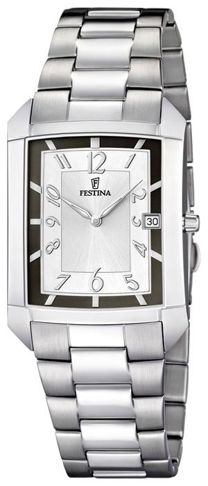 Festina F6824.2 - мужские наручные часы из коллекции Acero ModaFestina<br><br><br>Бренд: Festina<br>Модель: Festina F6824/2<br>Артикул: F6824.2<br>Вариант артикула: None<br>Коллекция: Acero Moda<br>Подколлекция: None<br>Страна: Испания<br>Пол: мужские<br>Тип механизма: кварцевые<br>Механизм: None<br>Количество камней: None<br>Автоподзавод: None<br>Источник энергии: от батарейки<br>Срок службы элемента питания: None<br>Дисплей: стрелки<br>Цифры: арабские<br>Водозащита: WR 30<br>Противоударные: None<br>Материал корпуса: нерж. сталь<br>Материал браслета: нерж. сталь<br>Материал безеля: None<br>Стекло: минеральное<br>Антибликовое покрытие: None<br>Цвет корпуса: None<br>Цвет браслета: None<br>Цвет циферблата: None<br>Цвет безеля: None<br>Размеры: 32x35 мм<br>Диаметр: None<br>Диаметр корпуса: None<br>Толщина: None<br>Ширина ремешка: None<br>Вес: None<br>Спорт-функции: None<br>Подсветка: стрелок<br>Вставка: None<br>Отображение даты: число<br>Хронограф: None<br>Таймер: None<br>Термометр: None<br>Хронометр: None<br>GPS: None<br>Радиосинхронизация: None<br>Барометр: None<br>Скелетон: None<br>Дополнительная информация: срок службы батарейки 36 месяцев<br>Дополнительные функции: None