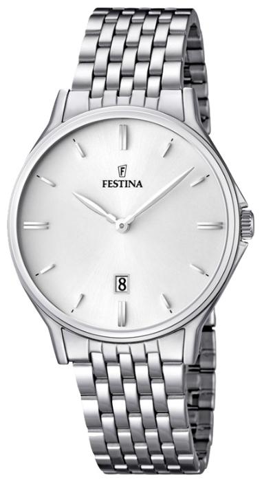 Festina F16744.2 - мужские наручные часы из коллекции ClassicFestina<br><br><br>Бренд: Festina<br>Модель: Festina F16744/2<br>Артикул: F16744.2<br>Вариант артикула: None<br>Коллекция: Classic<br>Подколлекция: None<br>Страна: Испания<br>Пол: мужские<br>Тип механизма: кварцевые<br>Механизм: MGM15<br>Количество камней: None<br>Автоподзавод: None<br>Источник энергии: от батарейки<br>Срок службы элемента питания: None<br>Дисплей: стрелки<br>Цифры: отсутствуют<br>Водозащита: WR 50<br>Противоударные: None<br>Материал корпуса: нерж. сталь<br>Материал браслета: нерж. сталь<br>Материал безеля: None<br>Стекло: минеральное<br>Антибликовое покрытие: None<br>Цвет корпуса: None<br>Цвет браслета: None<br>Цвет циферблата: None<br>Цвет безеля: None<br>Размеры: 39.2 мм<br>Диаметр: None<br>Диаметр корпуса: None<br>Толщина: None<br>Ширина ремешка: None<br>Вес: None<br>Спорт-функции: None<br>Подсветка: None<br>Вставка: None<br>Отображение даты: число<br>Хронограф: None<br>Таймер: None<br>Термометр: None<br>Хронометр: None<br>GPS: None<br>Радиосинхронизация: None<br>Барометр: None<br>Скелетон: None<br>Дополнительная информация: None<br>Дополнительные функции: None