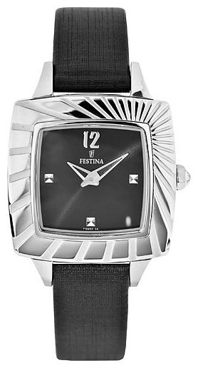 Festina F16650.4 - женские наручные часы из коллекции DreamFestina<br><br><br>Бренд: Festina<br>Модель: Festina F16650/4<br>Артикул: F16650.4<br>Вариант артикула: None<br>Коллекция: Dream<br>Подколлекция: None<br>Страна: Испания<br>Пол: женские<br>Тип механизма: кварцевые<br>Механизм: None<br>Количество камней: None<br>Автоподзавод: None<br>Источник энергии: от батарейки<br>Срок службы элемента питания: None<br>Дисплей: стрелки<br>Цифры: арабские<br>Водозащита: WR 50<br>Противоударные: None<br>Материал корпуса: нерж. сталь<br>Материал браслета: текстиль + кожа<br>Материал безеля: None<br>Стекло: минеральное<br>Антибликовое покрытие: None<br>Цвет корпуса: None<br>Цвет браслета: None<br>Цвет циферблата: None<br>Цвет безеля: None<br>Размеры: 30.5x30.5 мм<br>Диаметр: None<br>Диаметр корпуса: None<br>Толщина: None<br>Ширина ремешка: None<br>Вес: None<br>Спорт-функции: None<br>Подсветка: None<br>Вставка: циркон<br>Отображение даты: None<br>Хронограф: None<br>Таймер: None<br>Термометр: None<br>Хронометр: None<br>GPS: None<br>Радиосинхронизация: None<br>Барометр: None<br>Скелетон: None<br>Дополнительная информация: None<br>Дополнительные функции: None