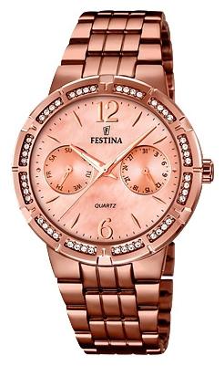 Festina F16796.1 - женские наручные часы из коллекции MademoiselleFestina<br><br><br>Бренд: Festina<br>Модель: Festina F16796/1<br>Артикул: F16796.1<br>Вариант артикула: None<br>Коллекция: Mademoiselle<br>Подколлекция: None<br>Страна: Испания<br>Пол: женские<br>Тип механизма: кварцевые<br>Механизм: M6P25<br>Количество камней: None<br>Автоподзавод: None<br>Источник энергии: от батарейки<br>Срок службы элемента питания: None<br>Дисплей: стрелки<br>Цифры: арабские<br>Водозащита: WR 50<br>Противоударные: None<br>Материал корпуса: нерж. сталь, PVD покрытие (полное)<br>Материал браслета: нерж. сталь, PVD покрытие (полное)<br>Материал безеля: None<br>Стекло: минеральное<br>Антибликовое покрытие: None<br>Цвет корпуса: None<br>Цвет браслета: None<br>Цвет циферблата: None<br>Цвет безеля: None<br>Размеры: 36 мм<br>Диаметр: None<br>Диаметр корпуса: None<br>Толщина: None<br>Ширина ремешка: None<br>Вес: None<br>Спорт-функции: None<br>Подсветка: стрелок<br>Вставка: None<br>Отображение даты: число, день недели<br>Хронограф: None<br>Таймер: None<br>Термометр: None<br>Хронометр: None<br>GPS: None<br>Радиосинхронизация: None<br>Барометр: None<br>Скелетон: None<br>Дополнительная информация: None<br>Дополнительные функции: None