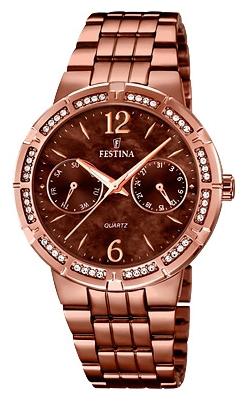 Festina F16796.2 - женские наручные часы из коллекции MademoiselleFestina<br><br><br>Бренд: Festina<br>Модель: Festina F16796/2<br>Артикул: F16796.2<br>Вариант артикула: None<br>Коллекция: Mademoiselle<br>Подколлекция: None<br>Страна: Испания<br>Пол: женские<br>Тип механизма: кварцевые<br>Механизм: M6P25<br>Количество камней: None<br>Автоподзавод: None<br>Источник энергии: от батарейки<br>Срок службы элемента питания: None<br>Дисплей: стрелки<br>Цифры: арабские<br>Водозащита: WR 50<br>Противоударные: None<br>Материал корпуса: нерж. сталь, PVD покрытие (полное)<br>Материал браслета: нерж. сталь, PVD покрытие (полное)<br>Материал безеля: None<br>Стекло: минеральное<br>Антибликовое покрытие: None<br>Цвет корпуса: None<br>Цвет браслета: None<br>Цвет циферблата: None<br>Цвет безеля: None<br>Размеры: 36 мм<br>Диаметр: None<br>Диаметр корпуса: None<br>Толщина: None<br>Ширина ремешка: None<br>Вес: None<br>Спорт-функции: None<br>Подсветка: стрелок<br>Вставка: None<br>Отображение даты: число, день недели<br>Хронограф: None<br>Таймер: None<br>Термометр: None<br>Хронометр: None<br>GPS: None<br>Радиосинхронизация: None<br>Барометр: None<br>Скелетон: None<br>Дополнительная информация: None<br>Дополнительные функции: None