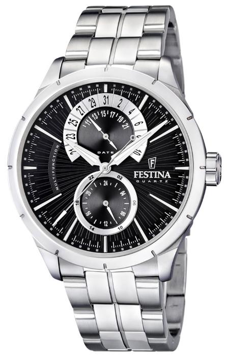 Festina F16632.3 - мужские наручные часы из коллекции RetroFestina<br><br><br>Бренд: Festina<br>Модель: Festina F16632/3<br>Артикул: F16632.3<br>Вариант артикула: None<br>Коллекция: Retro<br>Подколлекция: None<br>Страна: Испания<br>Пол: мужские<br>Тип механизма: кварцевые<br>Механизм: M6P73<br>Количество камней: None<br>Автоподзавод: None<br>Источник энергии: от батарейки<br>Срок службы элемента питания: None<br>Дисплей: стрелки<br>Цифры: отсутствуют<br>Водозащита: WR 50<br>Противоударные: None<br>Материал корпуса: нерж. сталь<br>Материал браслета: нерж. сталь<br>Материал безеля: None<br>Стекло: минеральное<br>Антибликовое покрытие: None<br>Цвет корпуса: None<br>Цвет браслета: None<br>Цвет циферблата: None<br>Цвет безеля: None<br>Размеры: 46x46x12 мм<br>Диаметр: None<br>Диаметр корпуса: None<br>Толщина: None<br>Ширина ремешка: None<br>Вес: None<br>Спорт-функции: None<br>Подсветка: стрелок<br>Вставка: None<br>Отображение даты: число<br>Хронограф: None<br>Таймер: None<br>Термометр: None<br>Хронометр: None<br>GPS: None<br>Радиосинхронизация: None<br>Барометр: None<br>Скелетон: None<br>Дополнительная информация: None<br>Дополнительные функции: None