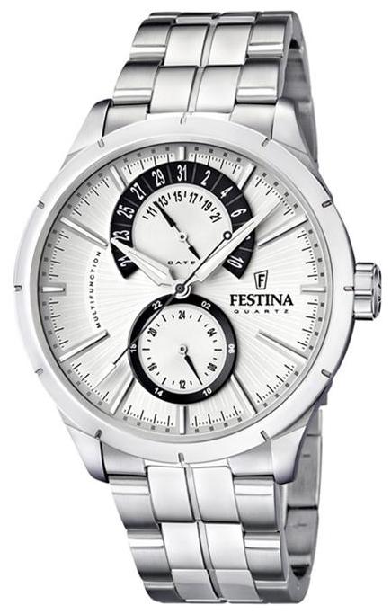 Festina F16632.5 - мужские наручные часы из коллекции RetroFestina<br><br><br>Бренд: Festina<br>Модель: Festina F16632/5<br>Артикул: F16632.5<br>Вариант артикула: None<br>Коллекция: Retro<br>Подколлекция: None<br>Страна: Испания<br>Пол: мужские<br>Тип механизма: кварцевые<br>Механизм: M6P73<br>Количество камней: None<br>Автоподзавод: None<br>Источник энергии: от батарейки<br>Срок службы элемента питания: None<br>Дисплей: стрелки<br>Цифры: отсутствуют<br>Водозащита: WR 50<br>Противоударные: None<br>Материал корпуса: нерж. сталь<br>Материал браслета: нерж. сталь<br>Материал безеля: None<br>Стекло: минеральное<br>Антибликовое покрытие: None<br>Цвет корпуса: None<br>Цвет браслета: None<br>Цвет циферблата: None<br>Цвет безеля: None<br>Размеры: 46x46x12 мм<br>Диаметр: None<br>Диаметр корпуса: None<br>Толщина: None<br>Ширина ремешка: None<br>Вес: None<br>Спорт-функции: None<br>Подсветка: стрелок<br>Вставка: None<br>Отображение даты: число<br>Хронограф: None<br>Таймер: None<br>Термометр: None<br>Хронометр: None<br>GPS: None<br>Радиосинхронизация: None<br>Барометр: None<br>Скелетон: None<br>Дополнительная информация: None<br>Дополнительные функции: None