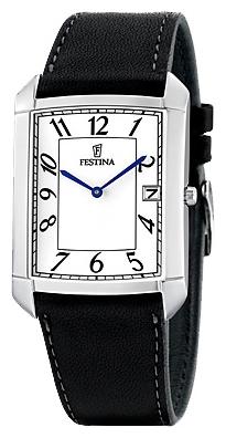 Festina F6748.7 - мужские наручные часы из коллекции ClassicFestina<br><br><br>Бренд: Festina<br>Модель: Festina F6748/7<br>Артикул: F6748.7<br>Вариант артикула: None<br>Коллекция: Classic<br>Подколлекция: None<br>Страна: Испания<br>Пол: мужские<br>Тип механизма: кварцевые<br>Механизм: M9U15<br>Количество камней: None<br>Автоподзавод: None<br>Источник энергии: от батарейки<br>Срок службы элемента питания: None<br>Дисплей: стрелки<br>Цифры: арабские<br>Водозащита: WR 30<br>Противоударные: None<br>Материал корпуса: нерж. сталь<br>Материал браслета: кожа<br>Материал безеля: None<br>Стекло: минеральное<br>Антибликовое покрытие: None<br>Цвет корпуса: None<br>Цвет браслета: None<br>Цвет циферблата: None<br>Цвет безеля: None<br>Размеры: 32 мм<br>Диаметр: None<br>Диаметр корпуса: None<br>Толщина: None<br>Ширина ремешка: None<br>Вес: None<br>Спорт-функции: None<br>Подсветка: None<br>Вставка: None<br>Отображение даты: число<br>Хронограф: None<br>Таймер: None<br>Термометр: None<br>Хронометр: None<br>GPS: None<br>Радиосинхронизация: None<br>Барометр: None<br>Скелетон: None<br>Дополнительная информация: None<br>Дополнительные функции: None