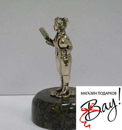 В подарок учителю статуэтку в Сердобске,Буланаше,Лобне