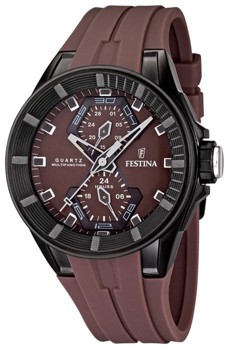 Festina F16612.2 - мужские наручные часы из коллекции MultifunctionFestina<br><br><br>Бренд: Festina<br>Модель: Festina F16612/2<br>Артикул: F16612.2<br>Вариант артикула: None<br>Коллекция: Multifunction<br>Подколлекция: None<br>Страна: Испания<br>Пол: мужские<br>Тип механизма: кварцевые<br>Механизм: None<br>Количество камней: None<br>Автоподзавод: None<br>Источник энергии: от батарейки<br>Срок службы элемента питания: None<br>Дисплей: стрелки<br>Цифры: отсутствуют<br>Водозащита: WR 100<br>Противоударные: None<br>Материал корпуса: нерж. сталь, полное покрытие корпуса<br>Материал браслета: каучук<br>Материал безеля: None<br>Стекло: минеральное<br>Антибликовое покрытие: None<br>Цвет корпуса: None<br>Цвет браслета: None<br>Цвет циферблата: None<br>Цвет безеля: None<br>Размеры: 44.5x14.5 мм<br>Диаметр: None<br>Диаметр корпуса: None<br>Толщина: None<br>Ширина ремешка: None<br>Вес: None<br>Спорт-функции: None<br>Подсветка: None<br>Вставка: None<br>Отображение даты: число<br>Хронограф: None<br>Таймер: None<br>Термометр: None<br>Хронометр: None<br>GPS: None<br>Радиосинхронизация: None<br>Барометр: None<br>Скелетон: None<br>Дополнительная информация: None<br>Дополнительные функции: второй часовой пояс