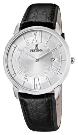Festina F6813.1 - мужские наручные часы из коллекции Correa ClasicoFestina<br><br><br>Бренд: Festina<br>Модель: Festina F6813/1<br>Артикул: F6813.1<br>Вариант артикула: None<br>Коллекция: Correa Clasico<br>Подколлекция: None<br>Страна: Испания<br>Пол: мужские<br>Тип механизма: кварцевые<br>Механизм: None<br>Количество камней: None<br>Автоподзавод: None<br>Источник энергии: от батарейки<br>Срок службы элемента питания: None<br>Дисплей: стрелки<br>Цифры: римские<br>Водозащита: WR 30<br>Противоударные: None<br>Материал корпуса: нерж. сталь<br>Материал браслета: кожа<br>Материал безеля: None<br>Стекло: минеральное<br>Антибликовое покрытие: None<br>Цвет корпуса: None<br>Цвет браслета: None<br>Цвет циферблата: None<br>Цвет безеля: None<br>Размеры: 40x7 мм<br>Диаметр: None<br>Диаметр корпуса: None<br>Толщина: None<br>Ширина ремешка: None<br>Вес: None<br>Спорт-функции: None<br>Подсветка: None<br>Вставка: None<br>Отображение даты: число<br>Хронограф: None<br>Таймер: None<br>Термометр: None<br>Хронометр: None<br>GPS: None<br>Радиосинхронизация: None<br>Барометр: None<br>Скелетон: None<br>Дополнительная информация: None<br>Дополнительные функции: None