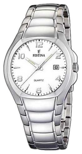 Festina F16262.7 - мужские наручные часы из коллекции ClassicFestina<br><br><br>Бренд: Festina<br>Модель: Festina F16262/7<br>Артикул: F16262.7<br>Вариант артикула: None<br>Коллекция: Classic<br>Подколлекция: None<br>Страна: Испания<br>Пол: мужские<br>Тип механизма: кварцевые<br>Механизм: None<br>Количество камней: None<br>Автоподзавод: None<br>Источник энергии: от батарейки<br>Срок службы элемента питания: None<br>Дисплей: стрелки<br>Цифры: арабские<br>Водозащита: WR 30<br>Противоударные: None<br>Материал корпуса: нерж. сталь<br>Материал браслета: нерж. сталь<br>Материал безеля: None<br>Стекло: минеральное<br>Антибликовое покрытие: None<br>Цвет корпуса: None<br>Цвет браслета: None<br>Цвет циферблата: None<br>Цвет безеля: None<br>Размеры: 39 мм<br>Диаметр: None<br>Диаметр корпуса: None<br>Толщина: None<br>Ширина ремешка: None<br>Вес: None<br>Спорт-функции: None<br>Подсветка: стрелок<br>Вставка: None<br>Отображение даты: число<br>Хронограф: None<br>Таймер: None<br>Термометр: None<br>Хронометр: None<br>GPS: None<br>Радиосинхронизация: None<br>Барометр: None<br>Скелетон: None<br>Дополнительная информация: None<br>Дополнительные функции: None