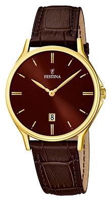 Festina F16747.3 - мужские наручные часы из коллекции ClassicFestina<br><br><br>Бренд: Festina<br>Модель: Festina F16747/3<br>Артикул: F16747.3<br>Вариант артикула: None<br>Коллекция: Classic<br>Подколлекция: None<br>Страна: Испания<br>Пол: мужские<br>Тип механизма: кварцевые<br>Механизм: MGL15<br>Количество камней: None<br>Автоподзавод: None<br>Источник энергии: от батарейки<br>Срок службы элемента питания: None<br>Дисплей: стрелки<br>Цифры: отсутствуют<br>Водозащита: WR 50<br>Противоударные: None<br>Материал корпуса: нерж. сталь, PVD покрытие (полное)<br>Материал браслета: кожа<br>Материал безеля: None<br>Стекло: минеральное<br>Антибликовое покрытие: None<br>Цвет корпуса: None<br>Цвет браслета: None<br>Цвет циферблата: None<br>Цвет безеля: None<br>Размеры: 39.2 мм<br>Диаметр: None<br>Диаметр корпуса: None<br>Толщина: None<br>Ширина ремешка: None<br>Вес: None<br>Спорт-функции: None<br>Подсветка: None<br>Вставка: None<br>Отображение даты: число<br>Хронограф: None<br>Таймер: None<br>Термометр: None<br>Хронометр: None<br>GPS: None<br>Радиосинхронизация: None<br>Барометр: None<br>Скелетон: None<br>Дополнительная информация: None<br>Дополнительные функции: None