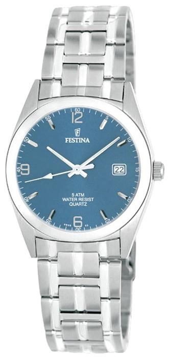 Festina F8825.2 - мужские наручные часы из коллекции ClassicFestina<br><br><br>Бренд: Festina<br>Модель: Festina F8825/2<br>Артикул: F8825.2<br>Вариант артикула: None<br>Коллекция: Classic<br>Подколлекция: None<br>Страна: Испания<br>Пол: мужские<br>Тип механизма: кварцевые<br>Механизм: None<br>Количество камней: None<br>Автоподзавод: None<br>Источник энергии: от батарейки<br>Срок службы элемента питания: None<br>Дисплей: стрелки<br>Цифры: арабские<br>Водозащита: WR 50<br>Противоударные: None<br>Материал корпуса: нерж. сталь<br>Материал браслета: нерж. сталь<br>Материал безеля: None<br>Стекло: минеральное<br>Антибликовое покрытие: None<br>Цвет корпуса: None<br>Цвет браслета: None<br>Цвет циферблата: None<br>Цвет безеля: None<br>Размеры: 41 мм<br>Диаметр: None<br>Диаметр корпуса: None<br>Толщина: None<br>Ширина ремешка: None<br>Вес: None<br>Спорт-функции: None<br>Подсветка: стрелок<br>Вставка: None<br>Отображение даты: число<br>Хронограф: None<br>Таймер: None<br>Термометр: None<br>Хронометр: None<br>GPS: None<br>Радиосинхронизация: None<br>Барометр: None<br>Скелетон: None<br>Дополнительная информация: None<br>Дополнительные функции: None