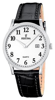 Festina F16521.1 - женские наручные часы из коллекции ClassicFestina<br><br><br>Бренд: Festina<br>Модель: Festina F16521/1<br>Артикул: F16521.1<br>Вариант артикула: None<br>Коллекция: Classic<br>Подколлекция: None<br>Страна: Испания<br>Пол: женские<br>Тип механизма: кварцевые<br>Механизм: M9T15<br>Количество камней: None<br>Автоподзавод: None<br>Источник энергии: от батарейки<br>Срок службы элемента питания: None<br>Дисплей: стрелки<br>Цифры: арабские<br>Водозащита: WR 50<br>Противоударные: None<br>Материал корпуса: нерж. сталь<br>Материал браслета: кожа<br>Материал безеля: None<br>Стекло: минеральное<br>Антибликовое покрытие: None<br>Цвет корпуса: None<br>Цвет браслета: None<br>Цвет циферблата: None<br>Цвет безеля: None<br>Размеры: 29.5 мм<br>Диаметр: None<br>Диаметр корпуса: None<br>Толщина: None<br>Ширина ремешка: None<br>Вес: None<br>Спорт-функции: None<br>Подсветка: None<br>Вставка: None<br>Отображение даты: число<br>Хронограф: None<br>Таймер: None<br>Термометр: None<br>Хронометр: None<br>GPS: None<br>Радиосинхронизация: None<br>Барометр: None<br>Скелетон: None<br>Дополнительная информация: None<br>Дополнительные функции: None