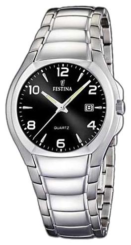 Festina F16262.8 - мужские наручные часы из коллекции ClassicFestina<br><br><br>Бренд: Festina<br>Модель: Festina F16262/8<br>Артикул: F16262.8<br>Вариант артикула: None<br>Коллекция: Classic<br>Подколлекция: None<br>Страна: Испания<br>Пол: мужские<br>Тип механизма: кварцевые<br>Механизм: None<br>Количество камней: None<br>Автоподзавод: None<br>Источник энергии: от батарейки<br>Срок службы элемента питания: None<br>Дисплей: стрелки<br>Цифры: арабские<br>Водозащита: WR 30<br>Противоударные: None<br>Материал корпуса: нерж. сталь<br>Материал браслета: нерж. сталь<br>Материал безеля: None<br>Стекло: минеральное<br>Антибликовое покрытие: None<br>Цвет корпуса: None<br>Цвет браслета: None<br>Цвет циферблата: None<br>Цвет безеля: None<br>Размеры: 39 мм<br>Диаметр: None<br>Диаметр корпуса: None<br>Толщина: None<br>Ширина ремешка: None<br>Вес: None<br>Спорт-функции: None<br>Подсветка: стрелок<br>Вставка: None<br>Отображение даты: число<br>Хронограф: None<br>Таймер: None<br>Термометр: None<br>Хронометр: None<br>GPS: None<br>Радиосинхронизация: None<br>Барометр: None<br>Скелетон: None<br>Дополнительная информация: None<br>Дополнительные функции: None