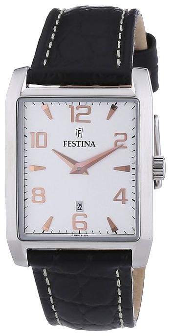 Festina F16515.6 - женские наручные часы из коллекции ClassicFestina<br><br><br>Бренд: Festina<br>Модель: Festina F16515/6<br>Артикул: F16515.6<br>Вариант артикула: None<br>Коллекция: Classic<br>Подколлекция: None<br>Страна: Испания<br>Пол: женские<br>Тип механизма: кварцевые<br>Механизм: None<br>Количество камней: None<br>Автоподзавод: None<br>Источник энергии: от батарейки<br>Срок службы элемента питания: None<br>Дисплей: стрелки<br>Цифры: арабские<br>Водозащита: None<br>Противоударные: None<br>Материал корпуса: нерж. сталь<br>Материал браслета: кожа<br>Материал безеля: None<br>Стекло: минеральное<br>Антибликовое покрытие: None<br>Цвет корпуса: None<br>Цвет браслета: None<br>Цвет циферблата: None<br>Цвет безеля: None<br>Размеры: None<br>Диаметр: None<br>Диаметр корпуса: None<br>Толщина: None<br>Ширина ремешка: None<br>Вес: None<br>Спорт-функции: None<br>Подсветка: None<br>Вставка: None<br>Отображение даты: число<br>Хронограф: None<br>Таймер: None<br>Термометр: None<br>Хронометр: None<br>GPS: None<br>Радиосинхронизация: None<br>Барометр: None<br>Скелетон: None<br>Дополнительная информация: None<br>Дополнительные функции: None