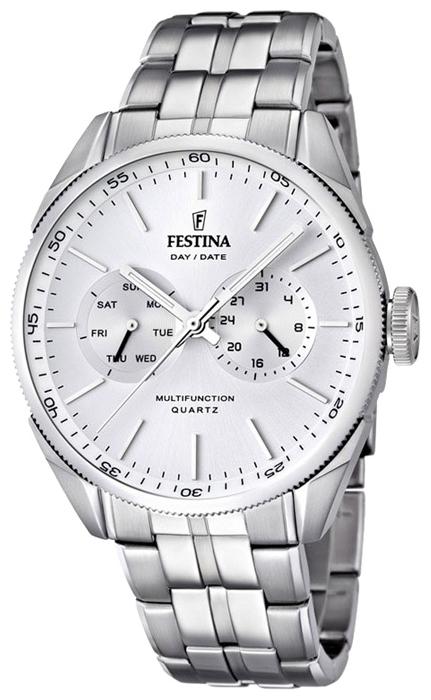 Festina F16630.1 - мужские наручные часы из коллекции MultifunctionFestina<br><br><br>Бренд: Festina<br>Модель: Festina F16630/1<br>Артикул: F16630.1<br>Вариант артикула: None<br>Коллекция: Multifunction<br>Подколлекция: None<br>Страна: Испания<br>Пол: мужские<br>Тип механизма: кварцевые<br>Механизм: M6P25<br>Количество камней: None<br>Автоподзавод: None<br>Источник энергии: от батарейки<br>Срок службы элемента питания: None<br>Дисплей: стрелки<br>Цифры: отсутствуют<br>Водозащита: WR 50<br>Противоударные: None<br>Материал корпуса: нерж. сталь<br>Материал браслета: нерж. сталь<br>Материал безеля: None<br>Стекло: минеральное<br>Антибликовое покрытие: None<br>Цвет корпуса: None<br>Цвет браслета: None<br>Цвет циферблата: None<br>Цвет безеля: None<br>Размеры: 43 мм<br>Диаметр: None<br>Диаметр корпуса: None<br>Толщина: None<br>Ширина ремешка: None<br>Вес: None<br>Спорт-функции: None<br>Подсветка: стрелок<br>Вставка: None<br>Отображение даты: число, день недели<br>Хронограф: None<br>Таймер: None<br>Термометр: None<br>Хронометр: None<br>GPS: None<br>Радиосинхронизация: None<br>Барометр: None<br>Скелетон: None<br>Дополнительная информация: None<br>Дополнительные функции: None