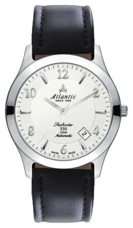Atlantic 71760.41.25 - мужские наручные часы из коллекции SeahunterAtlantic<br><br><br>Бренд: Atlantic<br>Модель: Atlantic 71760.41.25<br>Артикул: 71760.41.25<br>Вариант артикула: None<br>Коллекция: Seahunter<br>Подколлекция: None<br>Страна: Швейцария<br>Пол: мужские<br>Тип механизма: механические<br>Механизм: ETA 2824-2<br>Количество камней: None<br>Автоподзавод: есть<br>Источник энергии: пружинный механизм<br>Срок службы элемента питания: None<br>Дисплей: стрелки<br>Цифры: арабские<br>Водозащита: WR 100<br>Противоударные: None<br>Материал корпуса: нерж. сталь<br>Материал браслета: кожа (теленок)<br>Материал безеля: None<br>Стекло: сапфировое<br>Антибликовое покрытие: None<br>Цвет корпуса: None<br>Цвет браслета: None<br>Цвет циферблата: None<br>Цвет безеля: None<br>Размеры: 40 мм<br>Диаметр: None<br>Диаметр корпуса: None<br>Толщина: None<br>Ширина ремешка: None<br>Вес: None<br>Спорт-функции: None<br>Подсветка: стрелок<br>Вставка: None<br>Отображение даты: число<br>Хронограф: None<br>Таймер: None<br>Термометр: None<br>Хронометр: None<br>GPS: None<br>Радиосинхронизация: None<br>Барометр: None<br>Скелетон: None<br>Дополнительная информация: None<br>Дополнительные функции: None
