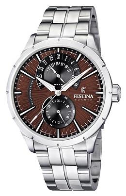 Festina F16632.6 - мужские наручные часы из коллекции RetroFestina<br><br><br>Бренд: Festina<br>Модель: Festina F16632/6<br>Артикул: F16632.6<br>Вариант артикула: None<br>Коллекция: Retro<br>Подколлекция: None<br>Страна: Испания<br>Пол: мужские<br>Тип механизма: кварцевые<br>Механизм: Miyota 6P73<br>Количество камней: None<br>Автоподзавод: None<br>Источник энергии: от батарейки<br>Срок службы элемента питания: None<br>Дисплей: стрелки<br>Цифры: отсутствуют<br>Водозащита: WR 50<br>Противоударные: None<br>Материал корпуса: нерж. сталь<br>Материал браслета: нерж. сталь<br>Материал безеля: None<br>Стекло: минеральное<br>Антибликовое покрытие: None<br>Цвет корпуса: None<br>Цвет браслета: None<br>Цвет циферблата: None<br>Цвет безеля: None<br>Размеры: 46 мм<br>Диаметр: None<br>Диаметр корпуса: None<br>Толщина: None<br>Ширина ремешка: None<br>Вес: None<br>Спорт-функции: None<br>Подсветка: стрелок<br>Вставка: None<br>Отображение даты: число<br>Хронограф: None<br>Таймер: None<br>Термометр: None<br>Хронометр: None<br>GPS: None<br>Радиосинхронизация: None<br>Барометр: None<br>Скелетон: None<br>Дополнительная информация: None<br>Дополнительные функции: None
