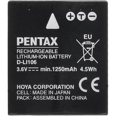 ����������� Pentax D-LI106 (������ PENTAX X90, SAMSUNG HMX-R10, PAN S005,FUJI NP-70, Leica BP-DC4, Ricoh DB-60)