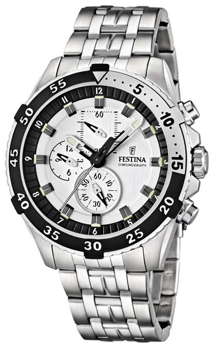 Festina F16603.1 - мужские наручные часы из коллекции SportFestina<br><br><br>Бренд: Festina<br>Модель: Festina F16603/1<br>Артикул: F16603.1<br>Вариант артикула: None<br>Коллекция: Sport<br>Подколлекция: None<br>Страна: Испания<br>Пол: мужские<br>Тип механизма: кварцевые<br>Механизм: M0S30<br>Количество камней: None<br>Автоподзавод: None<br>Источник энергии: от батарейки<br>Срок службы элемента питания: None<br>Дисплей: стрелки<br>Цифры: арабские<br>Водозащита: WR 100<br>Противоударные: None<br>Материал корпуса: нерж. сталь<br>Материал браслета: нерж. сталь<br>Материал безеля: None<br>Стекло: минеральное<br>Антибликовое покрытие: None<br>Цвет корпуса: None<br>Цвет браслета: None<br>Цвет циферблата: None<br>Цвет безеля: None<br>Размеры: 46x13.8 мм<br>Диаметр: None<br>Диаметр корпуса: None<br>Толщина: None<br>Ширина ремешка: None<br>Вес: 193 г<br>Спорт-функции: секундомер<br>Подсветка: стрелок<br>Вставка: None<br>Отображение даты: None<br>Хронограф: есть<br>Таймер: None<br>Термометр: None<br>Хронометр: None<br>GPS: None<br>Радиосинхронизация: None<br>Барометр: None<br>Скелетон: None<br>Дополнительная информация: None<br>Дополнительные функции: None