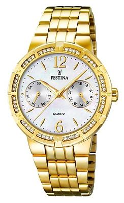 Festina F16701.1 - женские наручные часы из коллекции MultifunctionFestina<br><br><br>Бренд: Festina<br>Модель: Festina F16701/1<br>Артикул: F16701.1<br>Вариант артикула: None<br>Коллекция: Multifunction<br>Подколлекция: None<br>Страна: Испания<br>Пол: женские<br>Тип механизма: кварцевые<br>Механизм: M6P25<br>Количество камней: None<br>Автоподзавод: None<br>Источник энергии: от батарейки<br>Срок службы элемента питания: None<br>Дисплей: стрелки<br>Цифры: арабские<br>Водозащита: WR 50<br>Противоударные: None<br>Материал корпуса: нерж. сталь, PVD покрытие (полное)<br>Материал браслета: нерж. сталь, PVD покрытие (полное)<br>Материал безеля: None<br>Стекло: минеральное<br>Антибликовое покрытие: None<br>Цвет корпуса: None<br>Цвет браслета: None<br>Цвет циферблата: None<br>Цвет безеля: None<br>Размеры: 36 мм<br>Диаметр: None<br>Диаметр корпуса: None<br>Толщина: None<br>Ширина ремешка: None<br>Вес: None<br>Спорт-функции: None<br>Подсветка: стрелок<br>Вставка: None<br>Отображение даты: число, день недели<br>Хронограф: None<br>Таймер: None<br>Термометр: None<br>Хронометр: None<br>GPS: None<br>Радиосинхронизация: None<br>Барометр: None<br>Скелетон: None<br>Дополнительная информация: None<br>Дополнительные функции: None