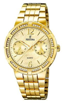 Festina F16701.2 - женские наручные часы из коллекции MultifunctionFestina<br><br><br>Бренд: Festina<br>Модель: Festina F16701/2<br>Артикул: F16701.2<br>Вариант артикула: None<br>Коллекция: Multifunction<br>Подколлекция: None<br>Страна: Испания<br>Пол: женские<br>Тип механизма: кварцевые<br>Механизм: M6P25<br>Количество камней: None<br>Автоподзавод: None<br>Источник энергии: от батарейки<br>Срок службы элемента питания: None<br>Дисплей: стрелки<br>Цифры: арабские<br>Водозащита: WR 50<br>Противоударные: None<br>Материал корпуса: нерж. сталь, PVD покрытие (полное)<br>Материал браслета: нерж. сталь, PVD покрытие (полное)<br>Материал безеля: None<br>Стекло: минеральное<br>Антибликовое покрытие: None<br>Цвет корпуса: None<br>Цвет браслета: None<br>Цвет циферблата: None<br>Цвет безеля: None<br>Размеры: 36 мм<br>Диаметр: None<br>Диаметр корпуса: None<br>Толщина: None<br>Ширина ремешка: None<br>Вес: None<br>Спорт-функции: None<br>Подсветка: стрелок<br>Вставка: None<br>Отображение даты: число, день недели<br>Хронограф: None<br>Таймер: None<br>Термометр: None<br>Хронометр: None<br>GPS: None<br>Радиосинхронизация: None<br>Барометр: None<br>Скелетон: None<br>Дополнительная информация: None<br>Дополнительные функции: None