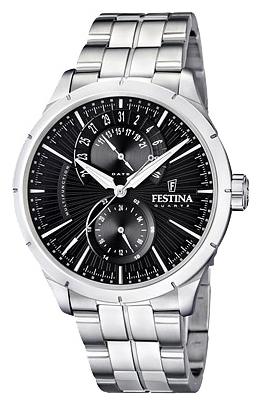 Festina F16632.4 - мужские наручные часы из коллекции RetroFestina<br><br><br>Бренд: Festina<br>Модель: Festina F16632/4<br>Артикул: F16632.4<br>Вариант артикула: None<br>Коллекция: Retro<br>Подколлекция: None<br>Страна: Испания<br>Пол: мужские<br>Тип механизма: кварцевые<br>Механизм: Miyota 6P73<br>Количество камней: None<br>Автоподзавод: None<br>Источник энергии: от батарейки<br>Срок службы элемента питания: None<br>Дисплей: стрелки<br>Цифры: отсутствуют<br>Водозащита: WR 50<br>Противоударные: None<br>Материал корпуса: нерж. сталь<br>Материал браслета: нерж. сталь<br>Материал безеля: None<br>Стекло: минеральное<br>Антибликовое покрытие: None<br>Цвет корпуса: None<br>Цвет браслета: None<br>Цвет циферблата: None<br>Цвет безеля: None<br>Размеры: 46 мм<br>Диаметр: None<br>Диаметр корпуса: None<br>Толщина: None<br>Ширина ремешка: None<br>Вес: None<br>Спорт-функции: None<br>Подсветка: стрелок<br>Вставка: None<br>Отображение даты: число<br>Хронограф: None<br>Таймер: None<br>Термометр: None<br>Хронометр: None<br>GPS: None<br>Радиосинхронизация: None<br>Барометр: None<br>Скелетон: None<br>Дополнительная информация: None<br>Дополнительные функции: None