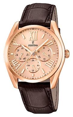 Festina F16754.2 - мужские наручные часы из коллекции MultifunctionFestina<br><br><br>Бренд: Festina<br>Модель: Festina F16754/2<br>Артикул: F16754.2<br>Вариант артикула: None<br>Коллекция: Multifunction<br>Подколлекция: None<br>Страна: Испания<br>Пол: мужские<br>Тип механизма: кварцевые<br>Механизм: M6P29<br>Количество камней: None<br>Автоподзавод: None<br>Источник энергии: от батарейки<br>Срок службы элемента питания: None<br>Дисплей: стрелки<br>Цифры: римские<br>Водозащита: WR 50<br>Противоударные: None<br>Материал корпуса: нерж. сталь, PVD покрытие (полное)<br>Материал браслета: кожа<br>Материал безеля: None<br>Стекло: минеральное<br>Антибликовое покрытие: None<br>Цвет корпуса: None<br>Цвет браслета: None<br>Цвет циферблата: None<br>Цвет безеля: None<br>Размеры: 42.2 мм<br>Диаметр: None<br>Диаметр корпуса: None<br>Толщина: None<br>Ширина ремешка: None<br>Вес: None<br>Спорт-функции: None<br>Подсветка: None<br>Вставка: None<br>Отображение даты: число, день недели<br>Хронограф: None<br>Таймер: None<br>Термометр: None<br>Хронометр: None<br>GPS: None<br>Радиосинхронизация: None<br>Барометр: None<br>Скелетон: None<br>Дополнительная информация: None<br>Дополнительные функции: None