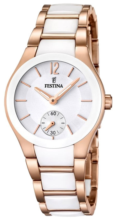 Festina F16589.1 - женские наручные часы из коллекции CeramicFestina<br><br><br>Бренд: Festina<br>Модель: Festina F16589/1<br>Артикул: F16589.1<br>Вариант артикула: None<br>Коллекция: Ceramic<br>Подколлекция: None<br>Страна: Испания<br>Пол: женские<br>Тип механизма: кварцевые<br>Механизм: M1L45<br>Количество камней: None<br>Автоподзавод: None<br>Источник энергии: от батарейки<br>Срок службы элемента питания: None<br>Дисплей: стрелки<br>Цифры: арабские<br>Водозащита: WR 50<br>Противоударные: None<br>Материал корпуса: нерж. сталь + керамика, PVD покрытие: позолота (частичное)<br>Материал браслета: нерж. сталь + керамика, PVD покрытие (частичное): позолота<br>Материал безеля: None<br>Стекло: минеральное<br>Антибликовое покрытие: None<br>Цвет корпуса: None<br>Цвет браслета: None<br>Цвет циферблата: None<br>Цвет безеля: None<br>Размеры: 32x9 мм<br>Диаметр: None<br>Диаметр корпуса: None<br>Толщина: None<br>Ширина ремешка: None<br>Вес: None<br>Спорт-функции: None<br>Подсветка: стрелок<br>Вставка: None<br>Отображение даты: None<br>Хронограф: None<br>Таймер: None<br>Термометр: None<br>Хронометр: None<br>GPS: None<br>Радиосинхронизация: None<br>Барометр: None<br>Скелетон: None<br>Дополнительная информация: None<br>Дополнительные функции: None