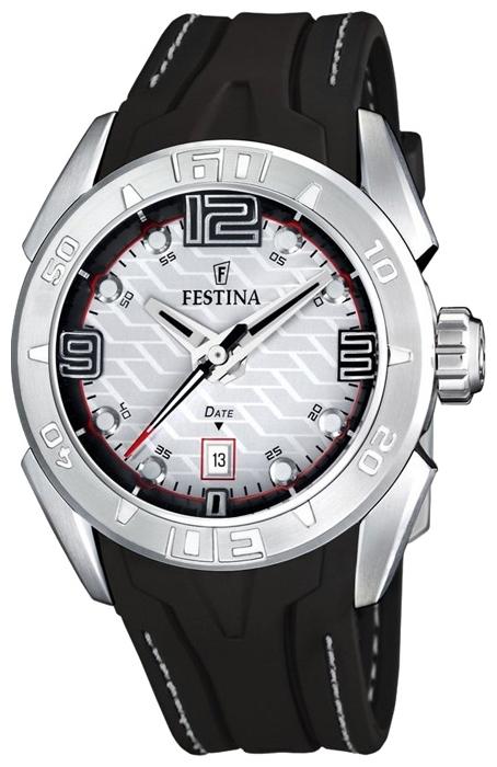 Festina F16505.1 - мужские наручные часы из коллекции SportFestina<br><br><br>Бренд: Festina<br>Модель: Festina F16505/1<br>Артикул: F16505.1<br>Вариант артикула: None<br>Коллекция: Sport<br>Подколлекция: None<br>Страна: Испания<br>Пол: мужские<br>Тип механизма: кварцевые<br>Механизм: M1S13<br>Количество камней: None<br>Автоподзавод: None<br>Источник энергии: от батарейки<br>Срок службы элемента питания: None<br>Дисплей: стрелки<br>Цифры: арабские<br>Водозащита: WR 200<br>Противоударные: None<br>Материал корпуса: нерж. сталь<br>Материал браслета: каучук<br>Материал безеля: None<br>Стекло: минеральное<br>Антибликовое покрытие: None<br>Цвет корпуса: None<br>Цвет браслета: None<br>Цвет циферблата: None<br>Цвет безеля: None<br>Размеры: 44x12 мм<br>Диаметр: None<br>Диаметр корпуса: None<br>Толщина: None<br>Ширина ремешка: None<br>Вес: None<br>Спорт-функции: None<br>Подсветка: None<br>Вставка: None<br>Отображение даты: число<br>Хронограф: None<br>Таймер: None<br>Термометр: None<br>Хронометр: None<br>GPS: None<br>Радиосинхронизация: None<br>Барометр: None<br>Скелетон: None<br>Дополнительная информация: None<br>Дополнительные функции: None