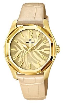 Festina F16738.2 - женские наручные часы из коллекции DreamtimeFestina<br><br><br>Бренд: Festina<br>Модель: Festina F16738/2<br>Артикул: F16738.2<br>Вариант артикула: None<br>Коллекция: Dreamtime<br>Подколлекция: None<br>Страна: Испания<br>Пол: женские<br>Тип механизма: кварцевые<br>Механизм: M2035<br>Количество камней: None<br>Автоподзавод: None<br>Источник энергии: от батарейки<br>Срок службы элемента питания: None<br>Дисплей: стрелки<br>Цифры: арабские<br>Водозащита: WR 50<br>Противоударные: None<br>Материал корпуса: нерж. сталь, PVD покрытие (полное)<br>Материал браслета: кожа<br>Материал безеля: None<br>Стекло: минеральное<br>Антибликовое покрытие: None<br>Цвет корпуса: None<br>Цвет браслета: None<br>Цвет циферблата: None<br>Цвет безеля: None<br>Размеры: 36.4 мм<br>Диаметр: None<br>Диаметр корпуса: None<br>Толщина: None<br>Ширина ремешка: None<br>Вес: None<br>Спорт-функции: None<br>Подсветка: стрелок<br>Вставка: None<br>Отображение даты: None<br>Хронограф: None<br>Таймер: None<br>Термометр: None<br>Хронометр: None<br>GPS: None<br>Радиосинхронизация: None<br>Барометр: None<br>Скелетон: None<br>Дополнительная информация: None<br>Дополнительные функции: None
