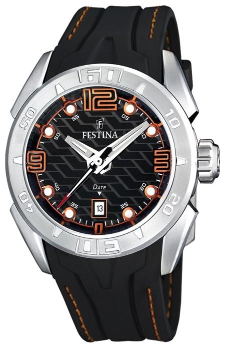Festina F16505.6 - мужские наручные часы из коллекции SportFestina<br><br><br>Бренд: Festina<br>Модель: Festina F16505/6<br>Артикул: F16505.6<br>Вариант артикула: None<br>Коллекция: Sport<br>Подколлекция: None<br>Страна: Испания<br>Пол: мужские<br>Тип механизма: кварцевые<br>Механизм: M1S13<br>Количество камней: None<br>Автоподзавод: None<br>Источник энергии: от батарейки<br>Срок службы элемента питания: None<br>Дисплей: стрелки<br>Цифры: арабские<br>Водозащита: WR 200<br>Противоударные: None<br>Материал корпуса: нерж. сталь<br>Материал браслета: каучук<br>Материал безеля: None<br>Стекло: минеральное<br>Антибликовое покрытие: None<br>Цвет корпуса: None<br>Цвет браслета: None<br>Цвет циферблата: None<br>Цвет безеля: None<br>Размеры: 44x12 мм<br>Диаметр: None<br>Диаметр корпуса: None<br>Толщина: None<br>Ширина ремешка: None<br>Вес: None<br>Спорт-функции: None<br>Подсветка: None<br>Вставка: None<br>Отображение даты: число<br>Хронограф: None<br>Таймер: None<br>Термометр: None<br>Хронометр: None<br>GPS: None<br>Радиосинхронизация: None<br>Барометр: None<br>Скелетон: None<br>Дополнительная информация: None<br>Дополнительные функции: None